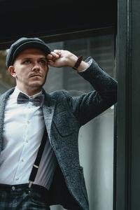 Dapper man in a vintage suit 1