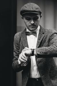 Dapper man in a vintage suit 3