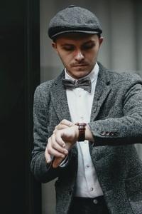 Dapper man in a vintage suit 4