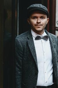 Dapper man in a vintage suit 5
