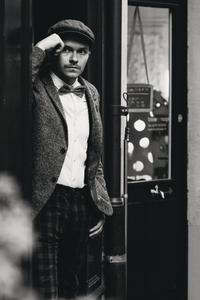 Dapper man in a vintage suit 6