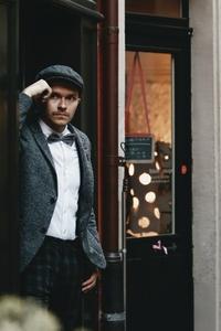 Dapper man in a vintage suit 7