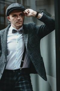 Dapper man in a vintage suit 8
