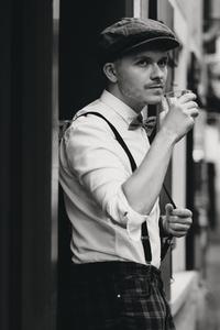 Dapper man in a vintage suit 9