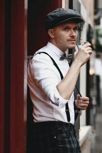 Dapper man in a vintage suit 10