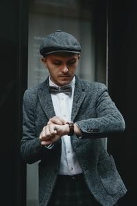 Dapper man in a vintage suit 15