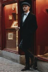 Dapper man in a vintage suit 20