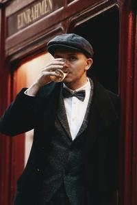 Dapper man in a vintage suit 22