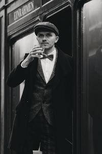 Dapper man in a vintage suit 23
