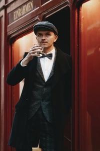 Dapper man in a vintage suit 24