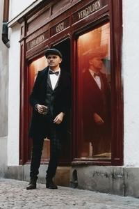 Dapper man in a vintage suit 25
