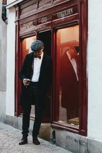 Dapper man in a vintage suit 26