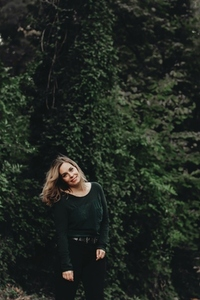 Beautiful women in a forest 2