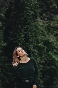 Beautiful women in a forest 1