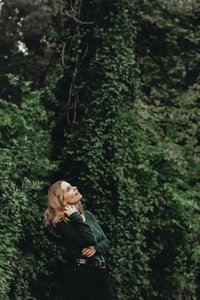Beautiful women in a forest 9