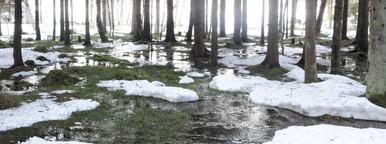 Snow melting