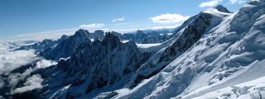 The View Back to Chamonix