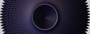 Abstract Gear Purple