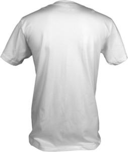 T Shirt Mockup Template   Back