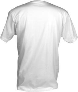 T Shirt Mockup Template   Back