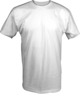 T Shirt Mockup Template   Front