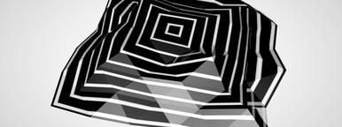 Folded stripes