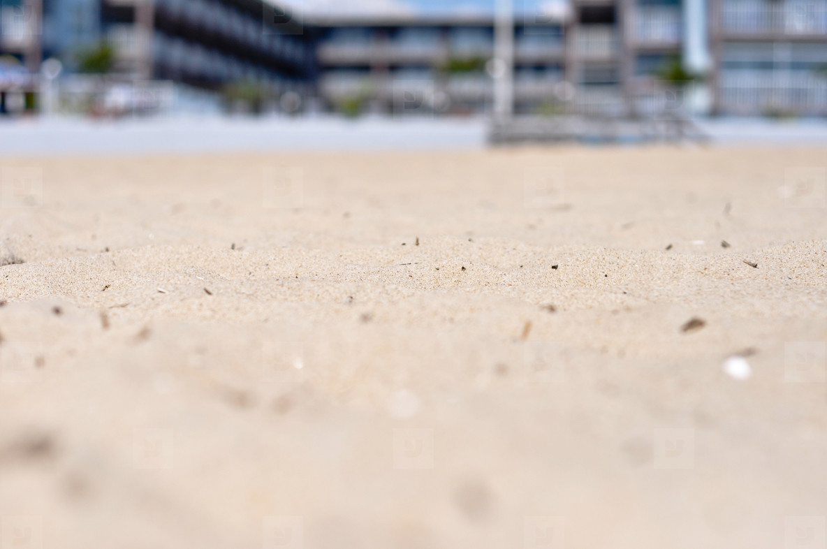 Sand and Hotel
