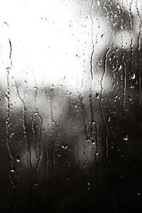 Rolling Raindrops