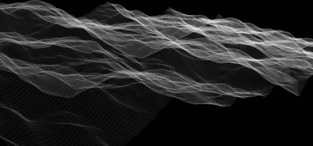 Wireframe Waves 01