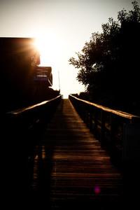 Boardwalk  and Sunshine