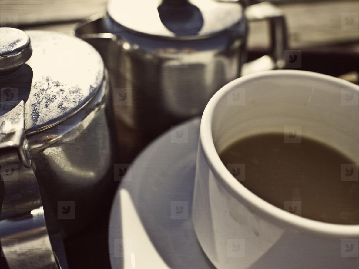 greasy tea