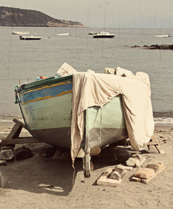 fishing boat Ischia  Italy