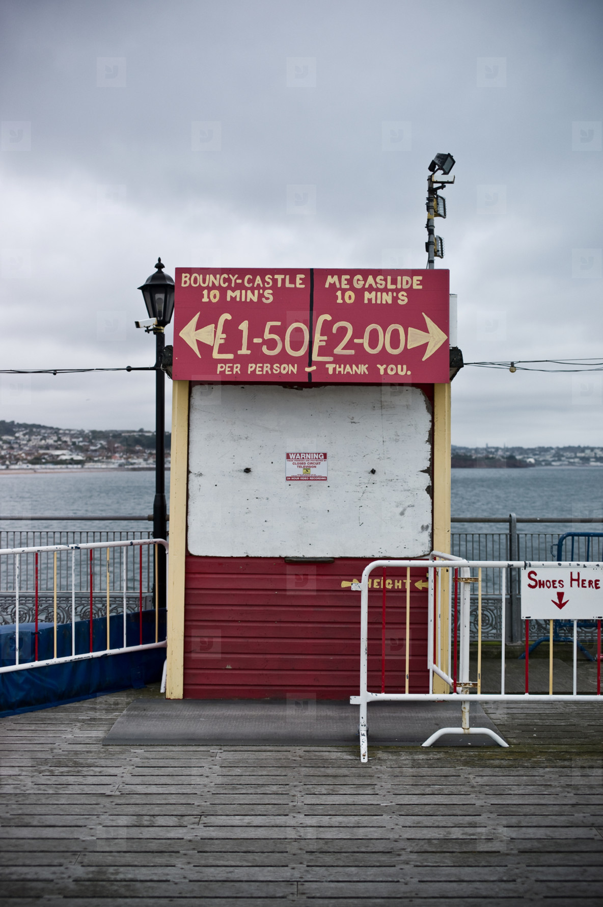 on paignton pier