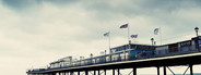 paignton pier faded