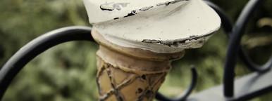 ice cream cone sculpture