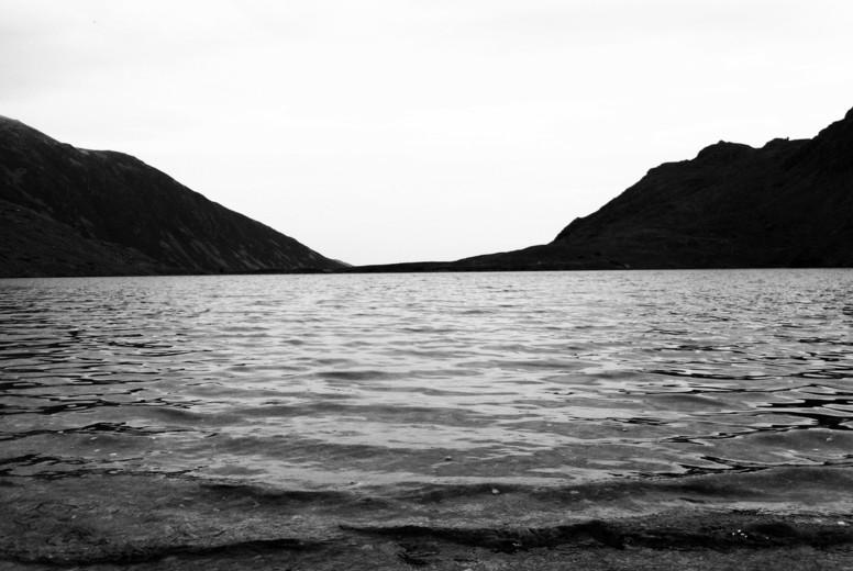 Lake Leads to Mountain