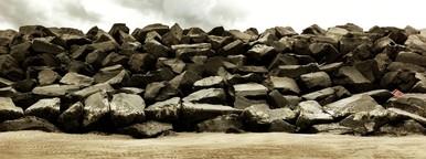 Sand  Rock  Sky