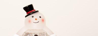Snowman Snow Globe  2