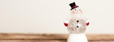 Snowman Snow Globe  1