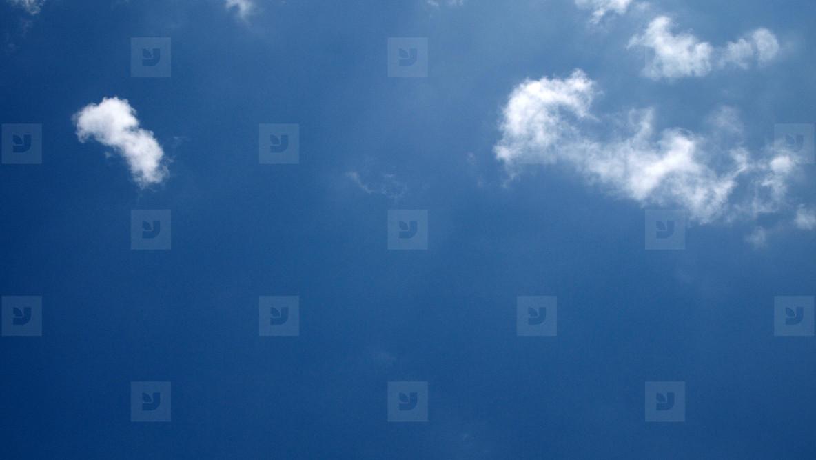 Blue Sky White Clouds 02