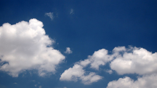 Blue Sky White Clouds 01