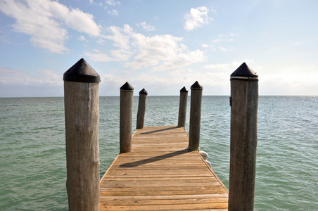 Pier in Key West