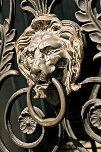 Lion039 s Head Ornament