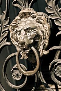 Lion039 s Head Ornament