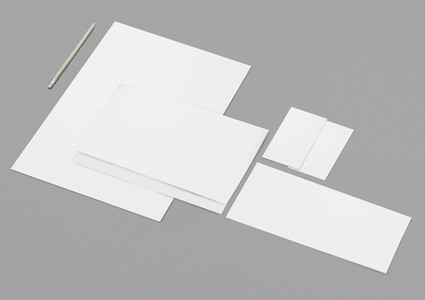 Mock Up Stationery