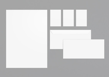 Mock Up Stationery 3
