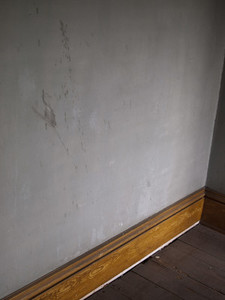Creepy Attic Stained Wall
