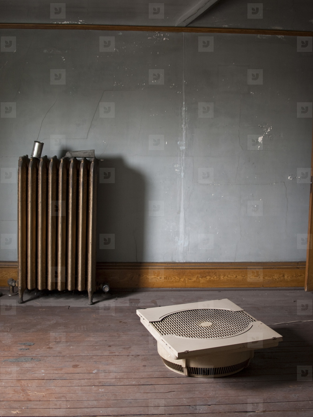 Creepy Attic  Radiator