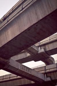 Futuristic Bridge Connection
