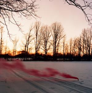 Smoke in Snow 2